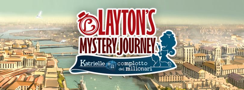 Layton's Mystery Journey: Katrielle e il Complotto dei Milionari disponibile in tutto il mondo per dispositivi mobile