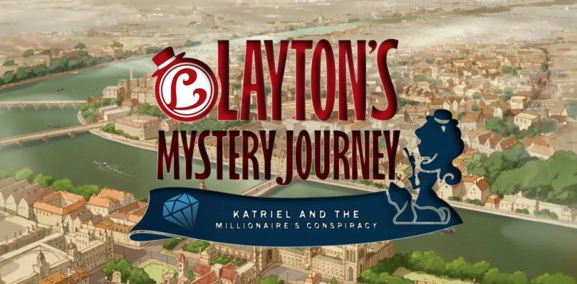 Layton's Mystery Journey: Katrielle e il complotto dei milionari arriva il 20 Luglio