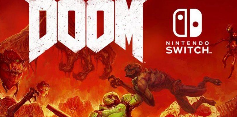 DOOM su Nintendo Switch in uscita il 10 Novembre