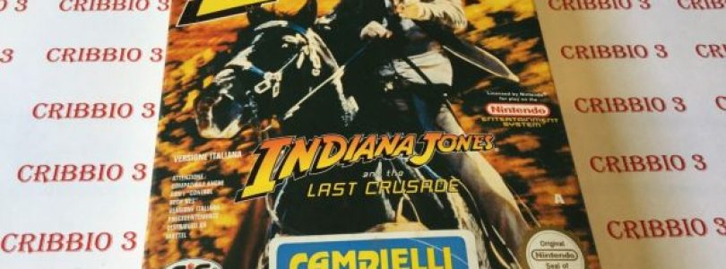 NES – Indy Indiana Jones And The Last Crusade