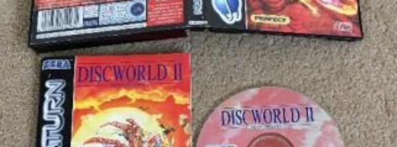 SATURN – Discworld 2 – PAL – Complete