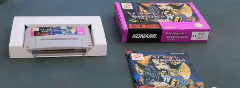 SNES – Castlevania Vampire's Kiss – PAL – Complete