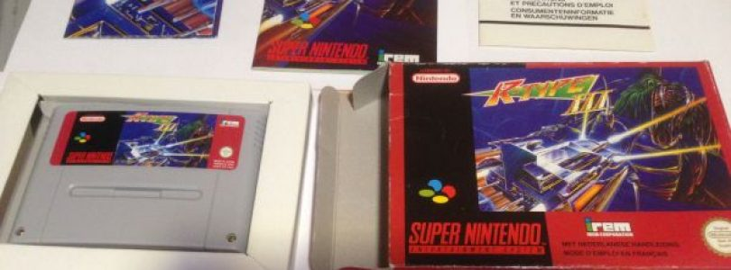 SNES – R-Type III: The Third Lightning – PAL – Complete