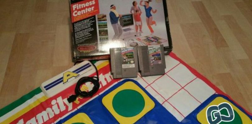 NES – Family Fun Fitness – PAL – Complete