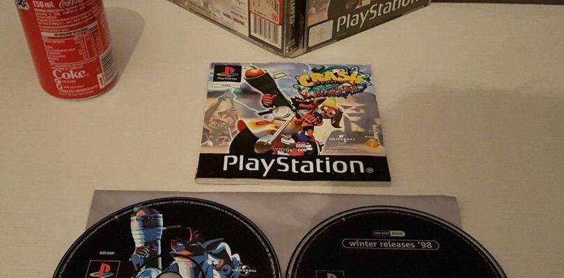 PS1 – Crash Bandicoot 3 Warped – PAL – Complete