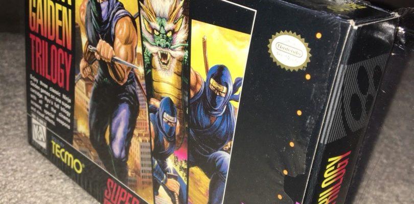 SNES – Ninja Gaiden Trilogy – USA – Complete