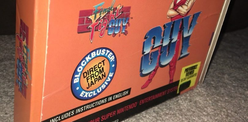 SNES – Final Fight Guy Blockbuster Edition – USA – Boxed
