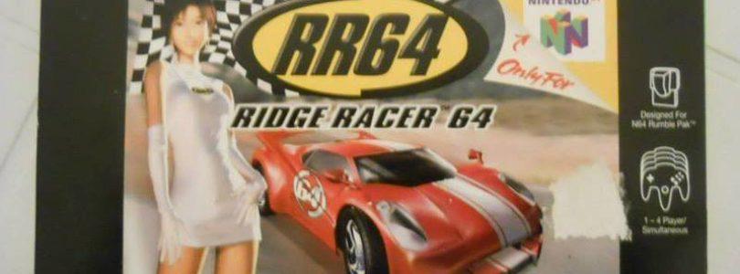 N64 – Ridge Racer 64 – PAL – Complete
