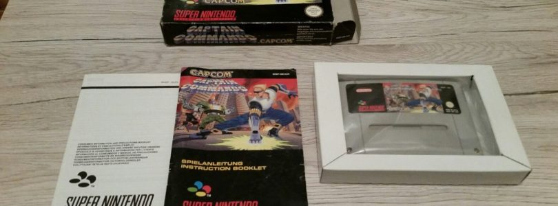 SNES – Captain Commando – PAL – Complete