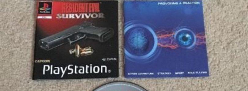 PS1 – Resident Evil Gun Survivor – PAL – Complete