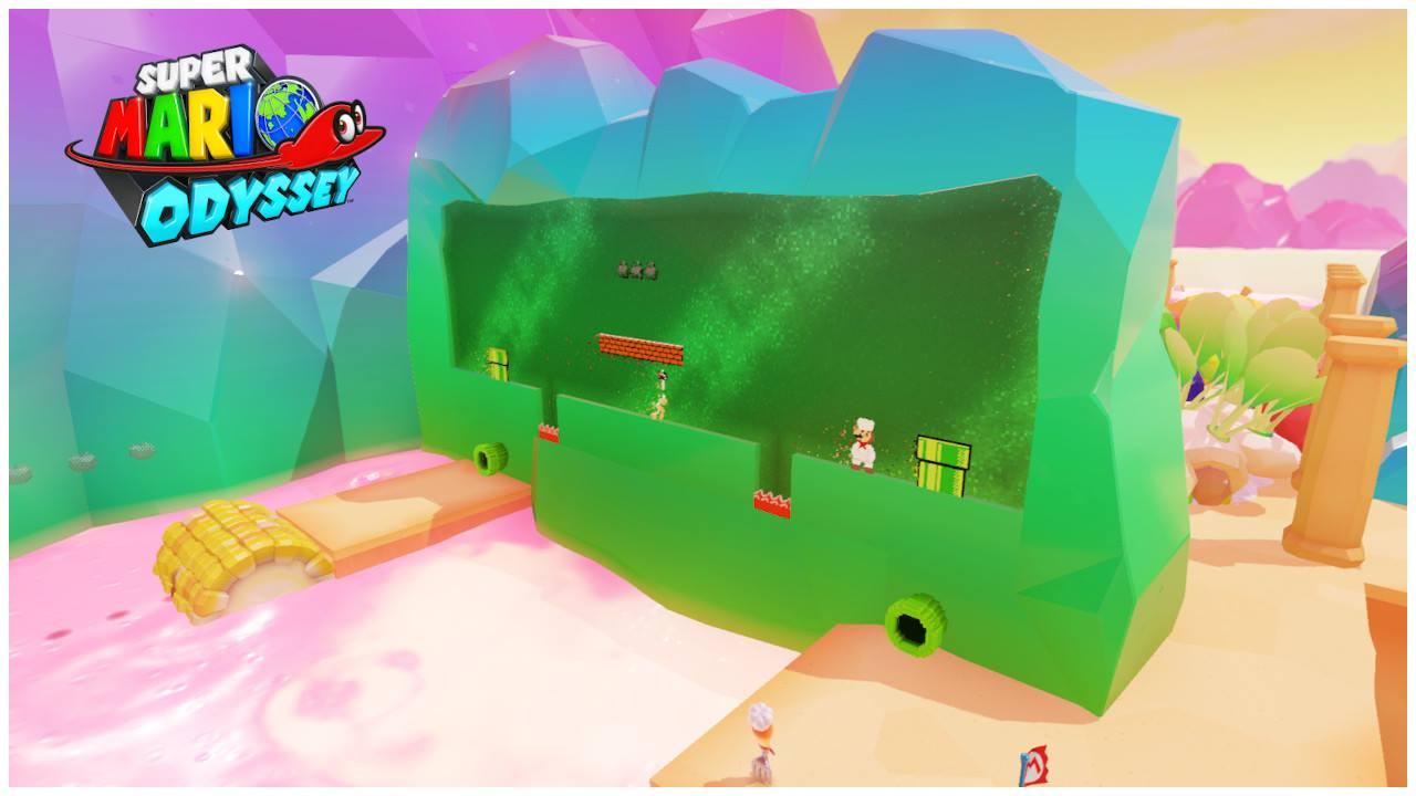 Super Mario Odyssey Regno dei Fornelli