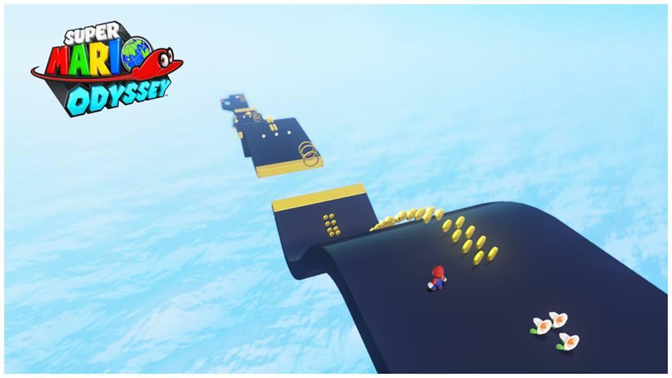 Super Mario Odyssey Turbo Sunshine Style