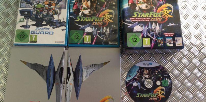 WII U – Star Fox Zero Print – PAL – Complete