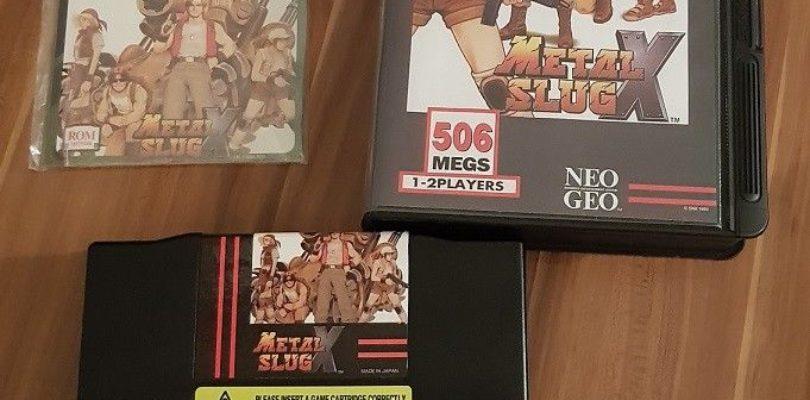 NEO GEO – Metal Slug X – NTSC – Complete