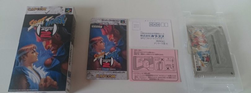 SNES – Street Fighter Zero 2 – JAP – Complete
