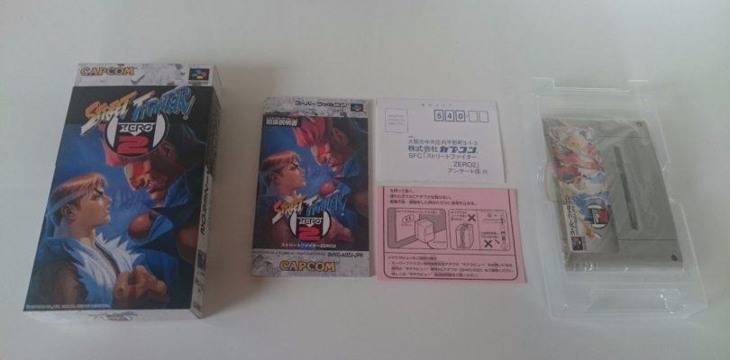 SNES – Street Fighter Zero 2 – JAP – Complete