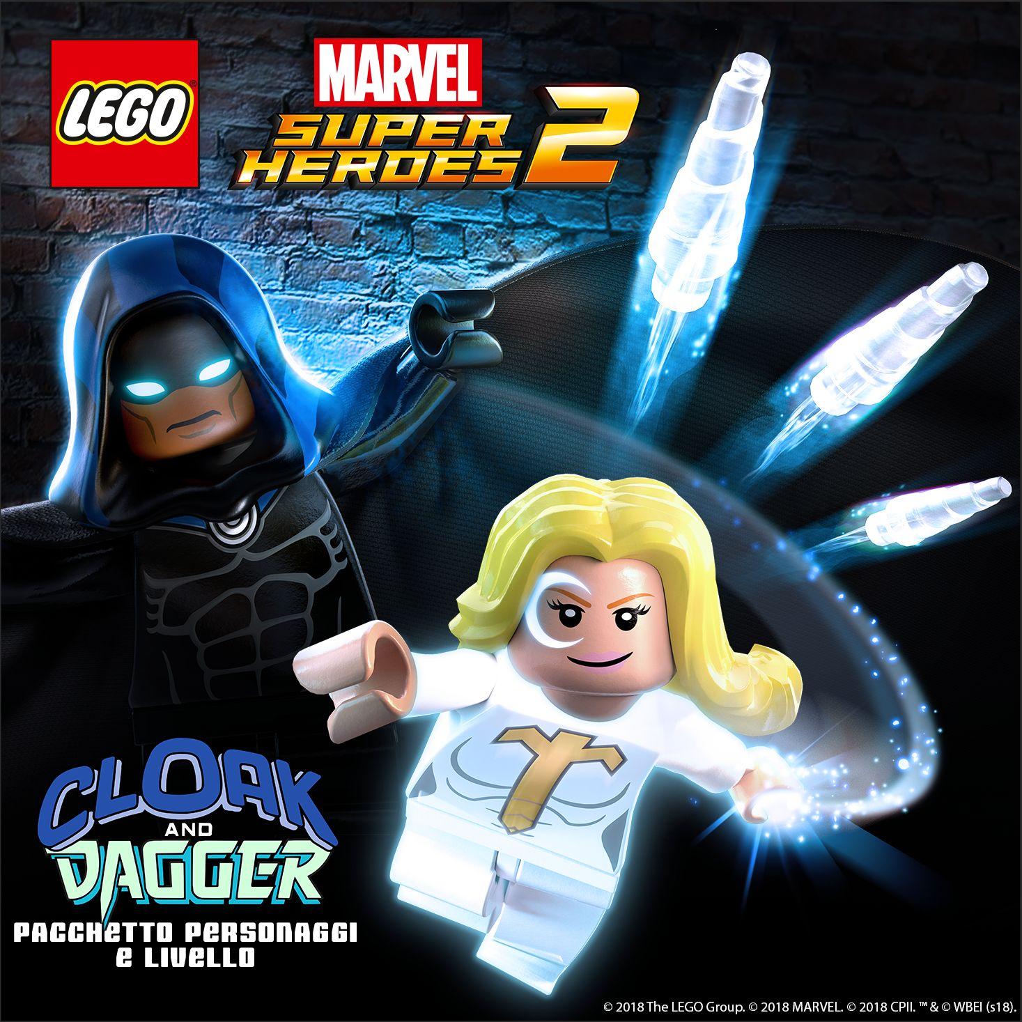 LEGO Marvel Super Heroes 2 Cloak e Dagger