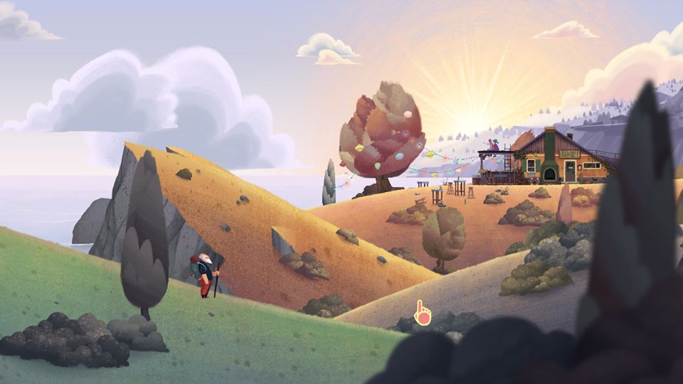 Old Man's Journey in-game
