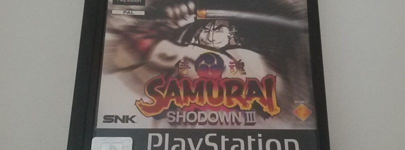 PS1 – Samurai Shodown 3 – PAL – Complete
