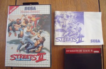 SMS – Streets Of Rage 2 – PAL – Complete