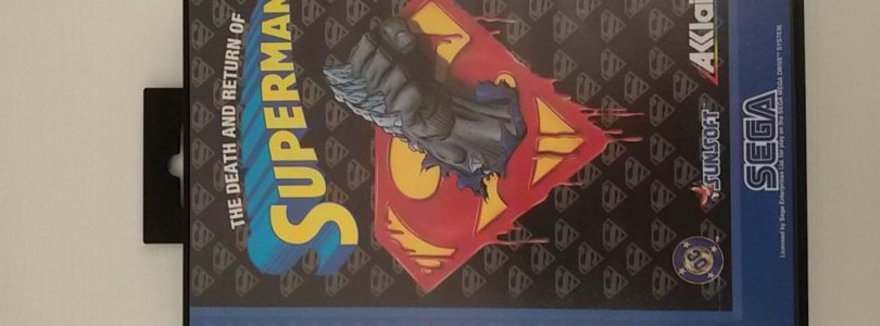MD – The Death And Return Of Superman – PAL – Complete
