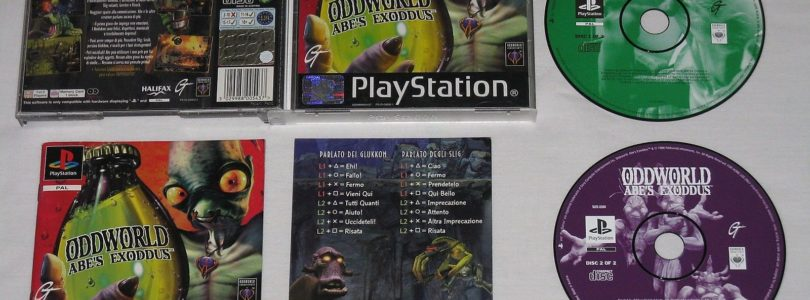 PS1 – Oddworld Abe's Exodus – PAL – Complete