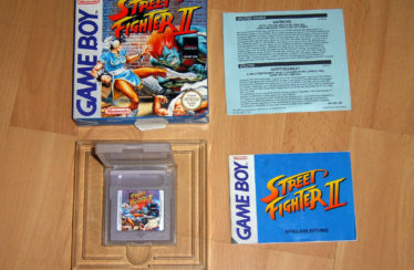 GB – Street Fighter 2 – PAL – Complete