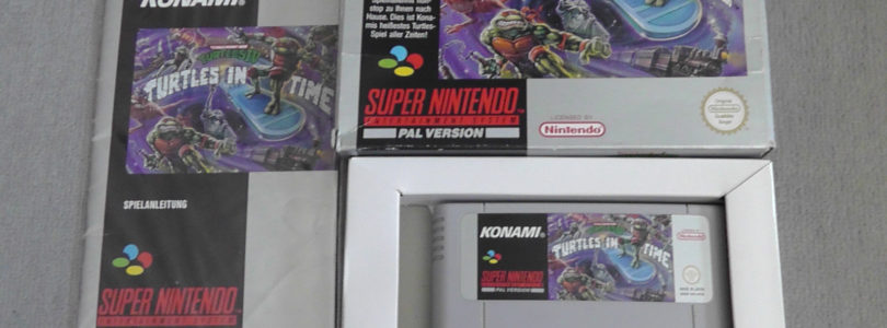 SNES – Turtles In Time – PAL – Complete