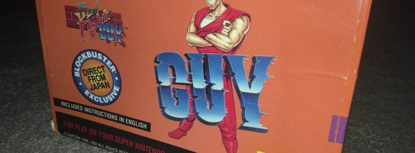 SNES – Final Fight Guy Blockbuster Exclusive – NTSC – Boxed
