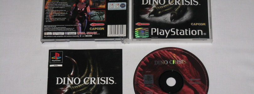 PS1 – Dino Crisis – PAL – Complete