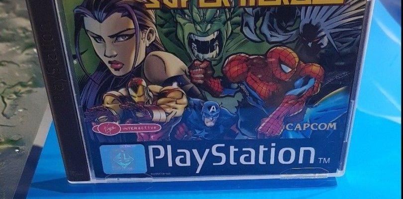 PS1 – Marvel Super Heroes – PAL – Complete