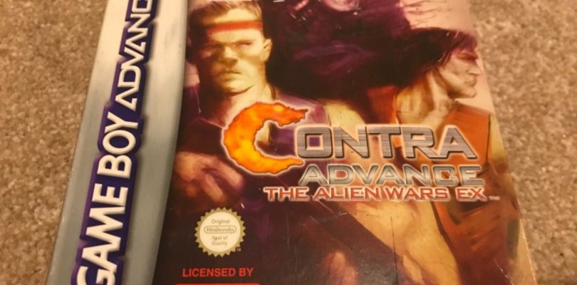 GBA – Contra The Alien Wars EX – PAL – Complete