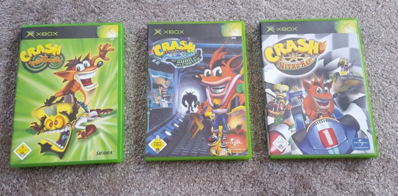 Xbox – Lotto Crash Bandicoot – PAL – Boxed