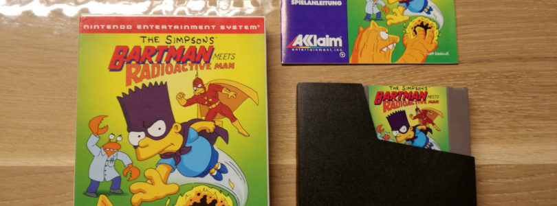 NES – Bartman Meets Radioactive Man