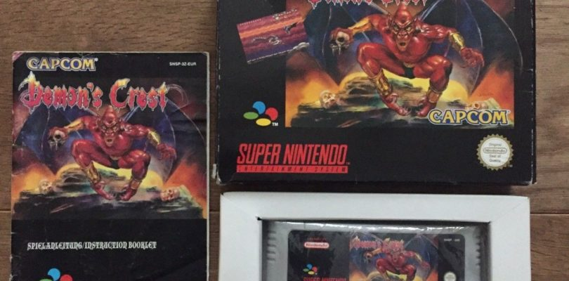 SNES – Demon's Crest