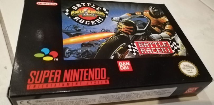 SNES – Power Rangers Zeo Battle Racers – PAL – Complete