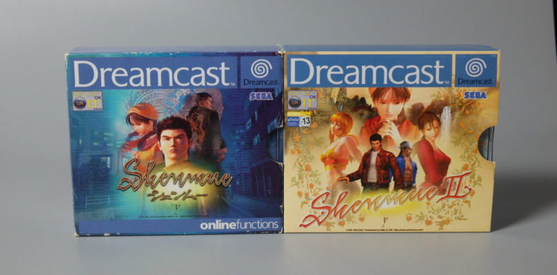 DC – Shenmue 1 & 2 – PAL – Complete