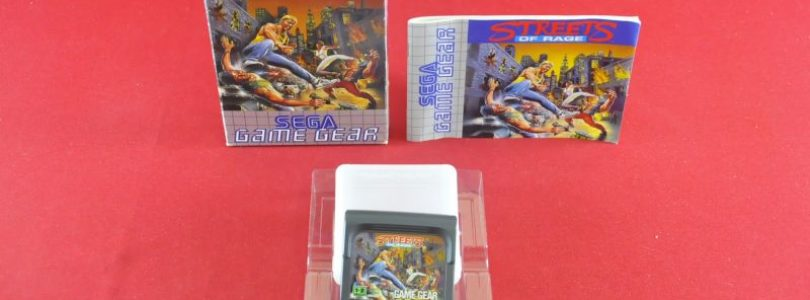 GG – Streets of Rage – PAL – Complete