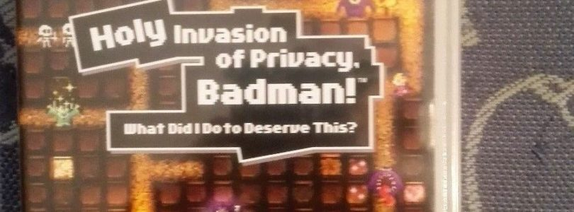 PSP – Holy Invasion Of Privacy, Badman! – PAL – NEW
