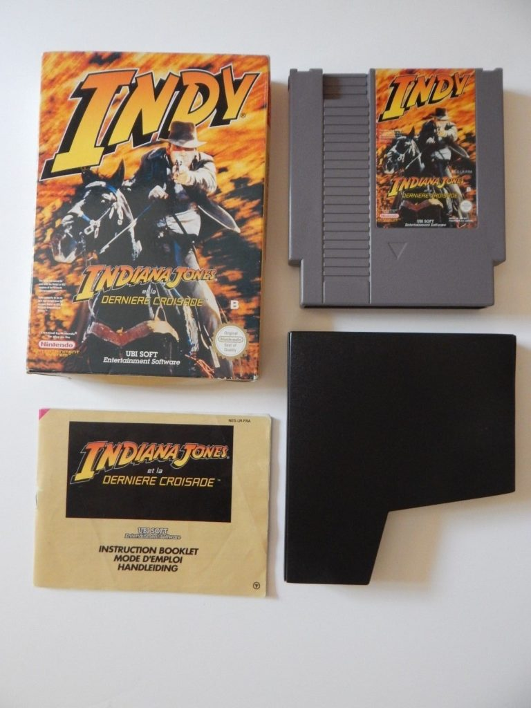 Indiana Jones NES