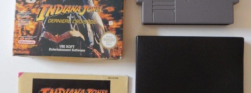 NES – Indiana Jones Et La Derniere Croisade – PAL B – Complete