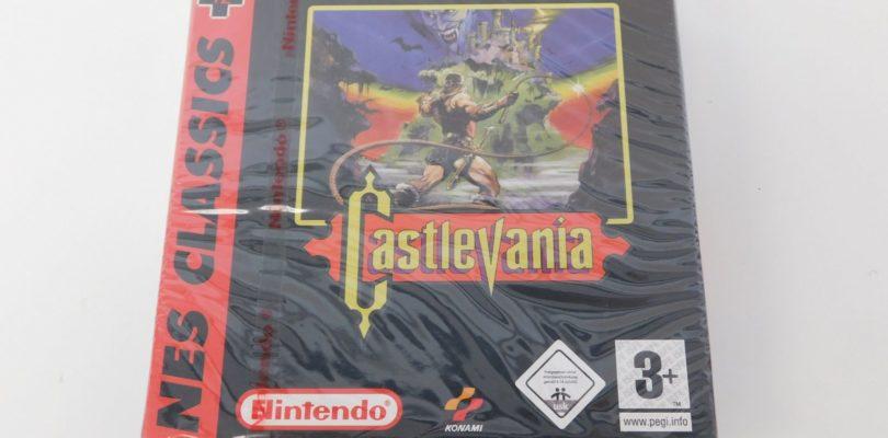 GBA – Castlevania – PAL – New
