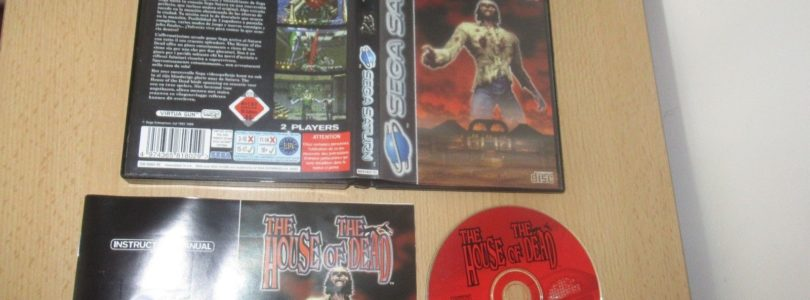 SATURN – The House Of The Dead – PAL – Complete