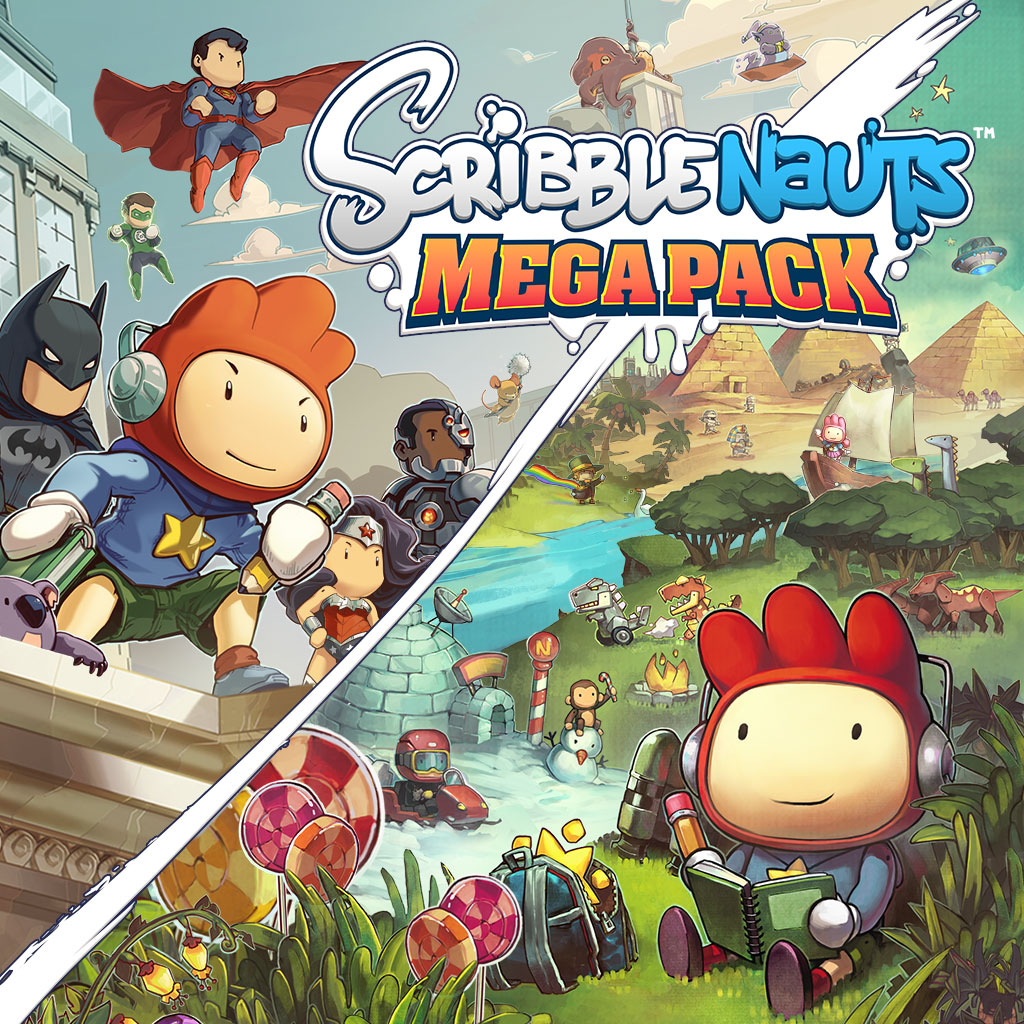 Scribblenauts Mega Pack Cover