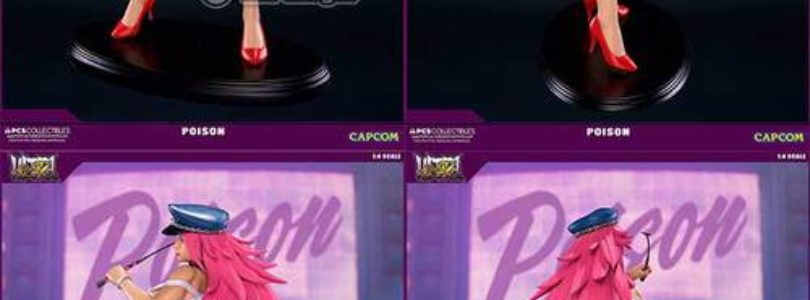 Pop Culture Shock Sideshow Capcom Poison Statue Unboxing