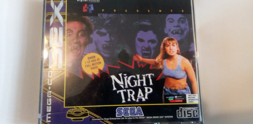 MEGA CD 32X – Night Trap – PAL – Complete