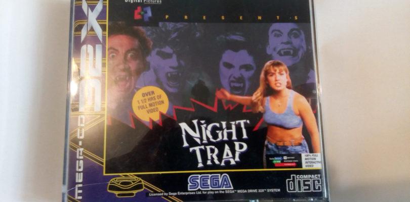 MEGA CD 32X – Night Trap – PAL – Complete