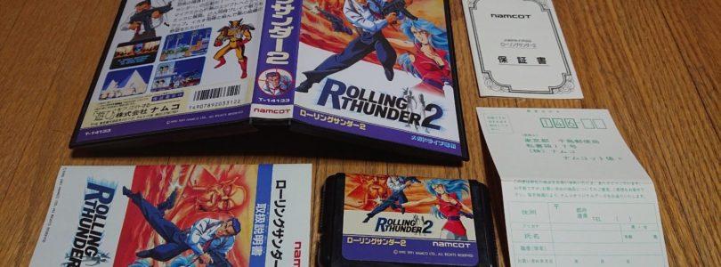 MD – Rolling Thunder 2 – JAP – Complete