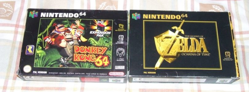 Ocarina of Time e Donkey Kong 64
