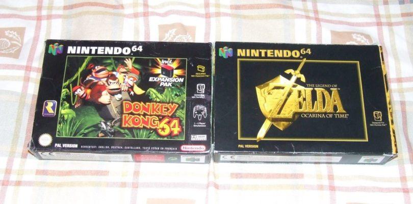 Ocarina of Time e Donkey Kong 64
